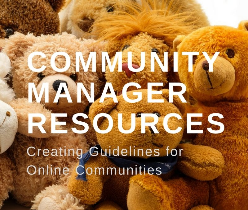 Community Manager Resources