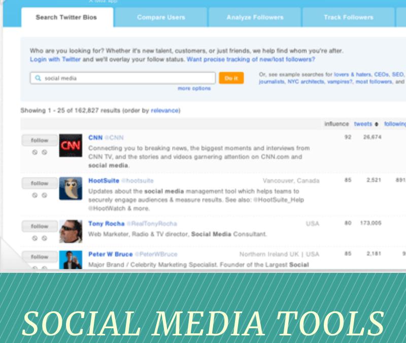 Followerwonk – Social Media Tool of the Week