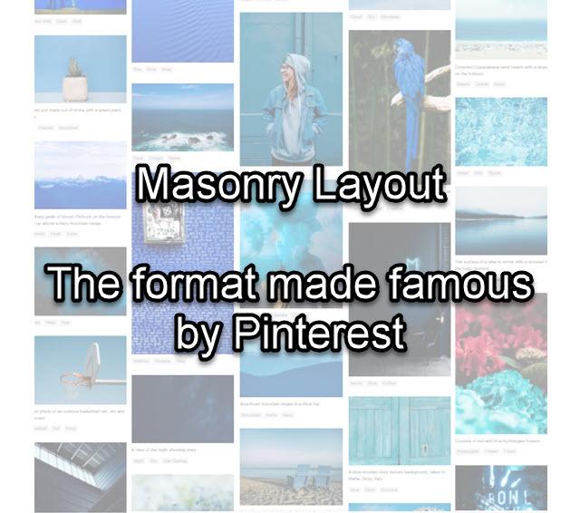 Masonry Layout