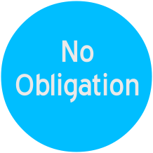No Obligation stamp