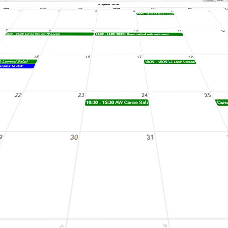Easy Staff Calendar